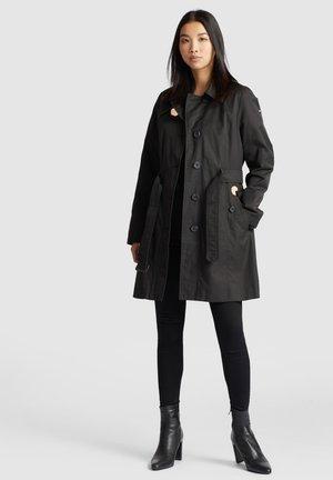 AURORA - Trenchcoat - black
