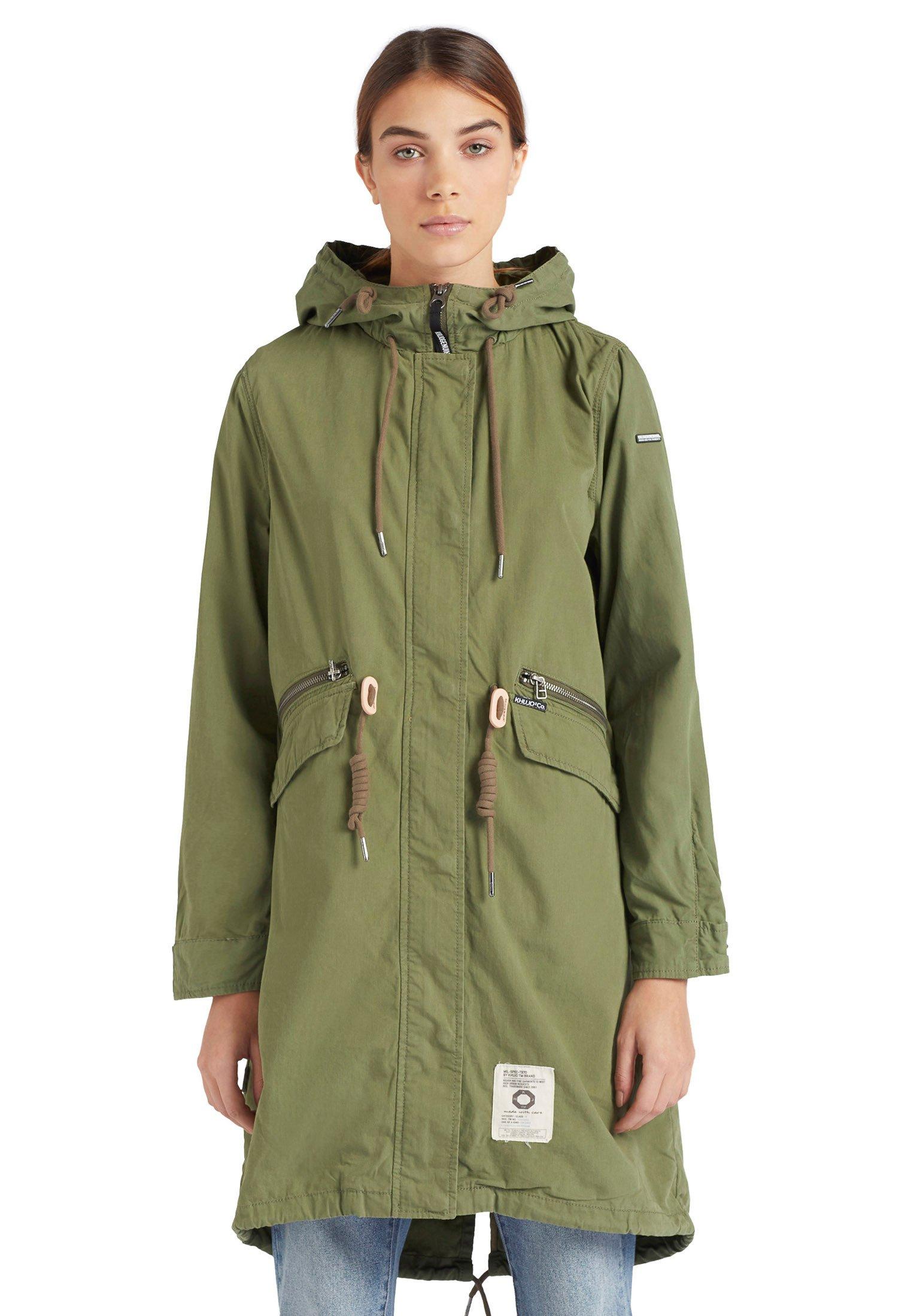 Only Damen Petie Canvas Parka Winter Jacke Gr XS S M L XL Winterjacke