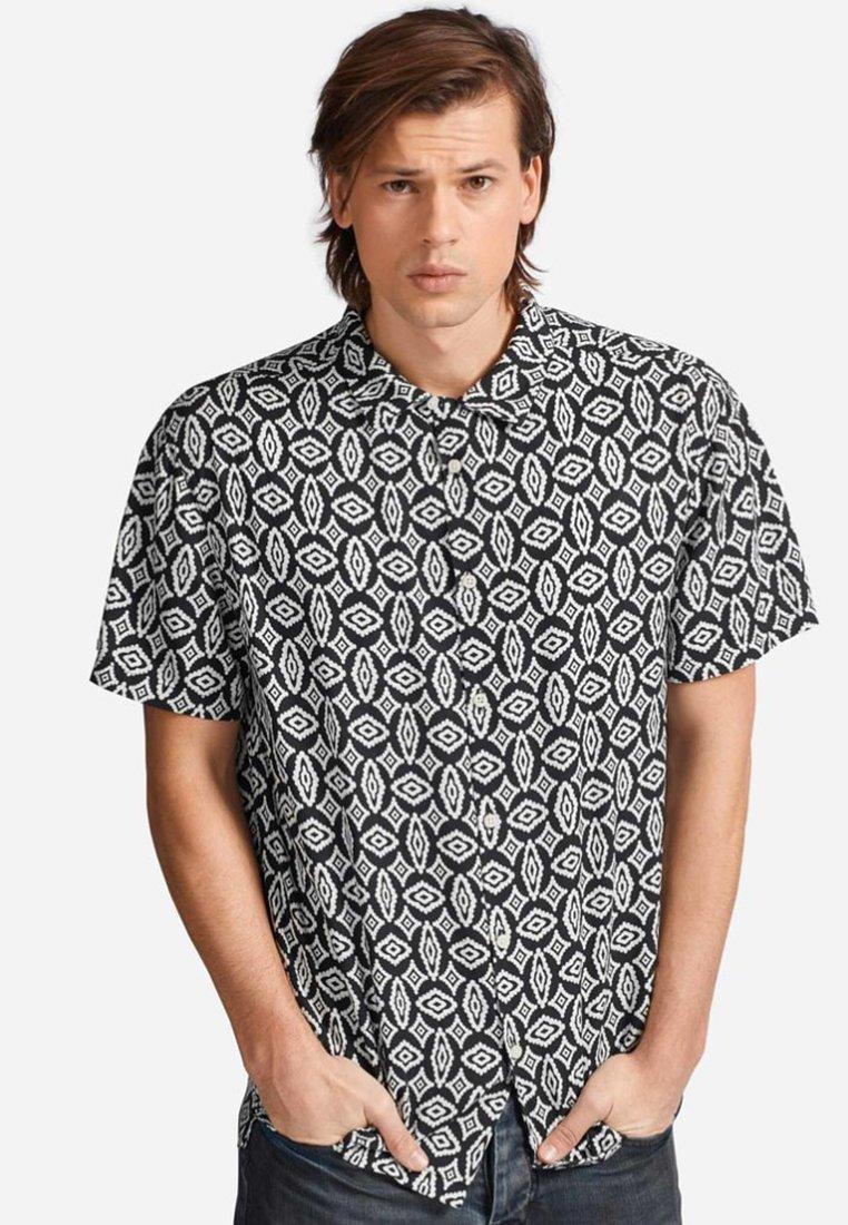 khujo - DANIELE - Shirt - black
