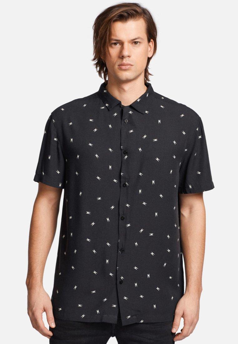 khujo - DANIELE - Camisa - black