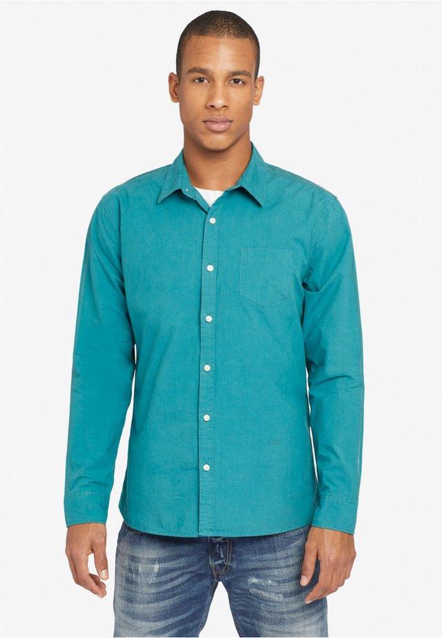 VALENTIN STRIPES - Shirt - green