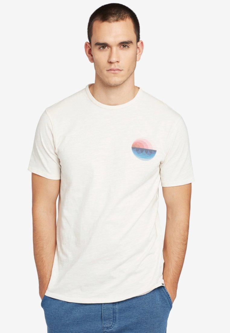 khujo - FINN BALL - T-Shirt print - offwhite
