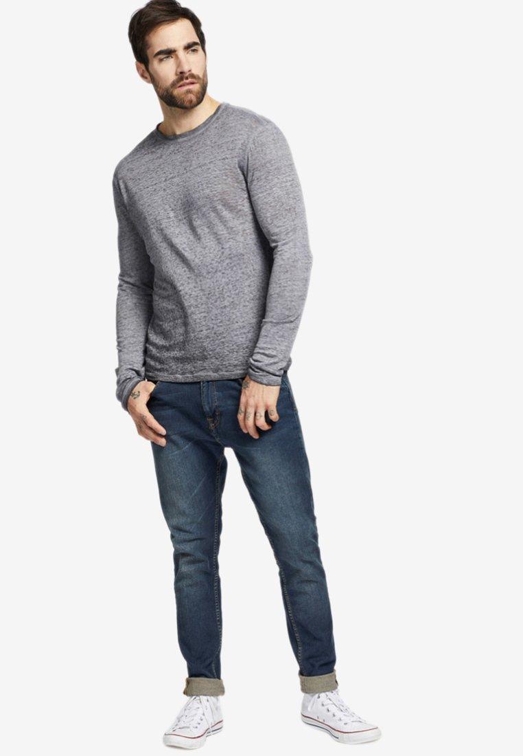 khujo RAIDEN - T-shirt à manches longues - dark grey