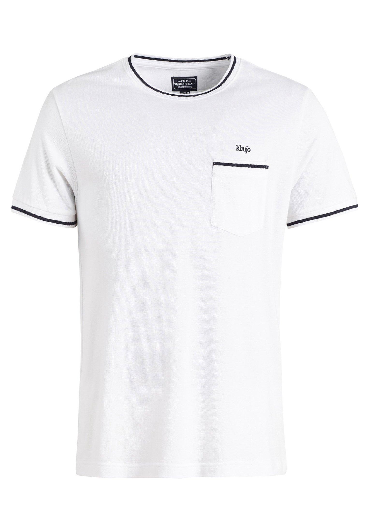 khujo LENNY T shirt print white Zalando.nl