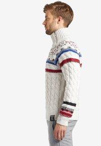 khujo - AMARYL - Pullover - off-white - 3