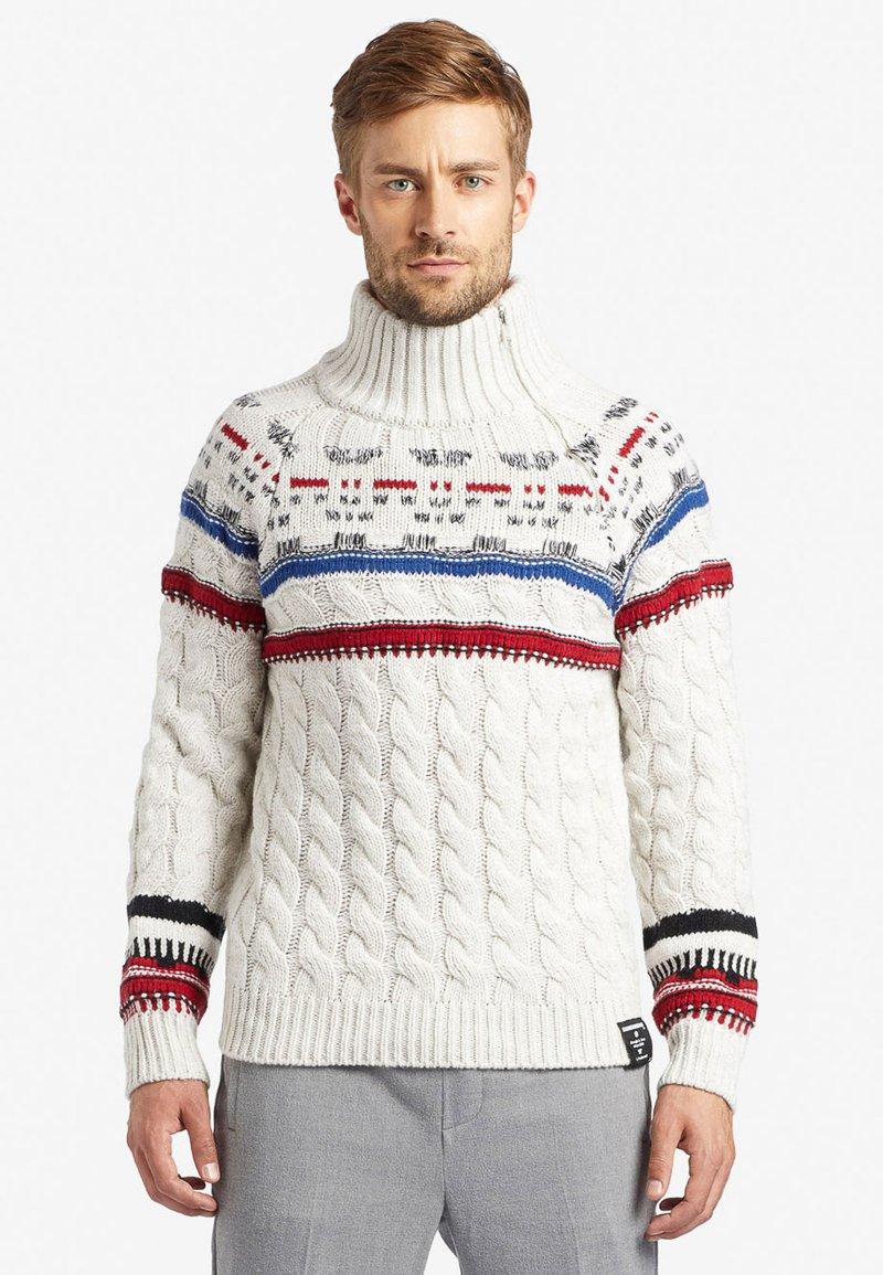 khujo - AMARYL - Pullover - off-white