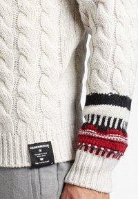khujo - AMARYL - Pullover - off-white - 5