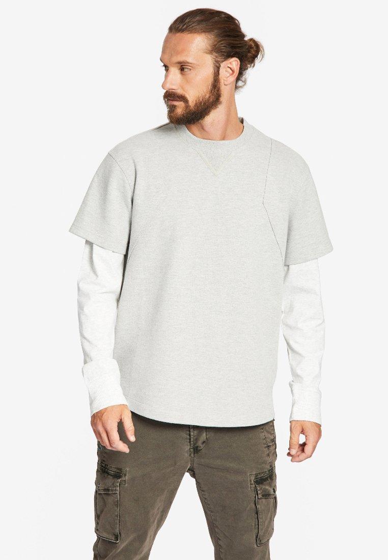 khujo - TABU - Sweatshirt - light grey
