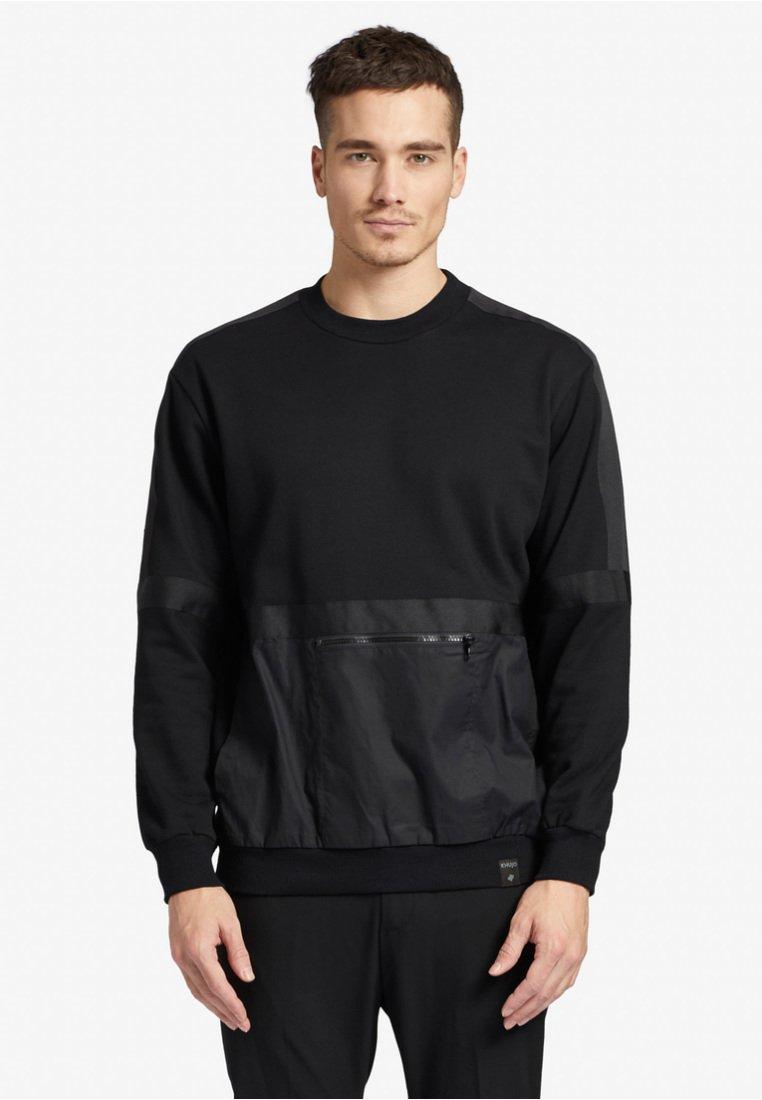 khujo - ALOIS - Sweatshirt - black