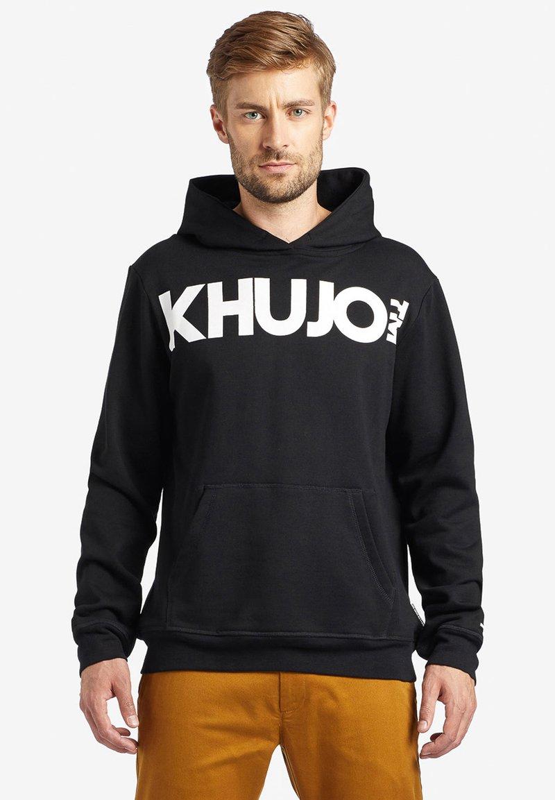 khujo - WINSTON BIG LOGO - Sweatshirt - black