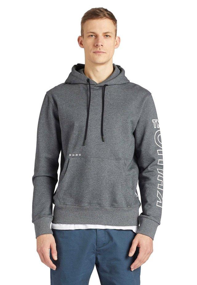 RODNEY - LOGO - Jersey con capucha - dark grey