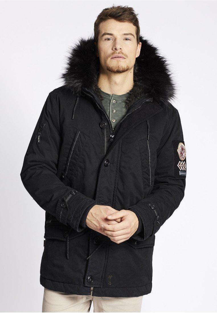 khujo - BIRD - Winter coat - black