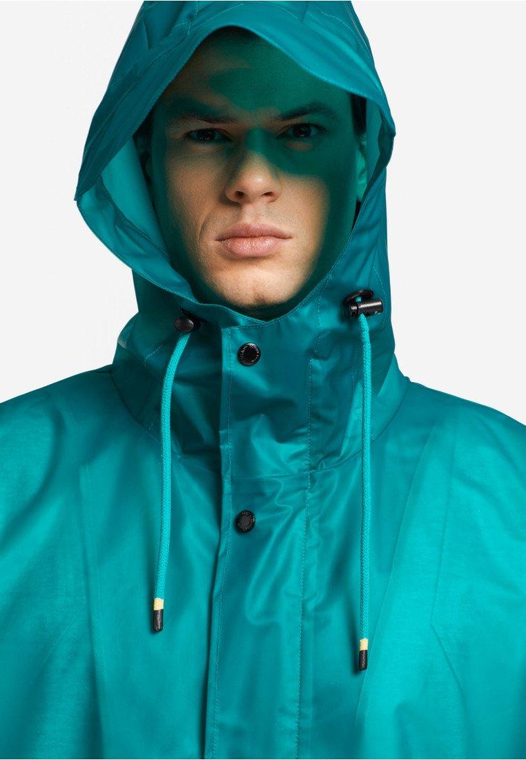 Khujo Renick - Impermeabile Green/transparent tKFAk