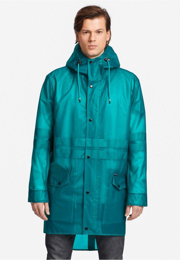 khujo - RENICK - Waterproof jacket - green/transparent