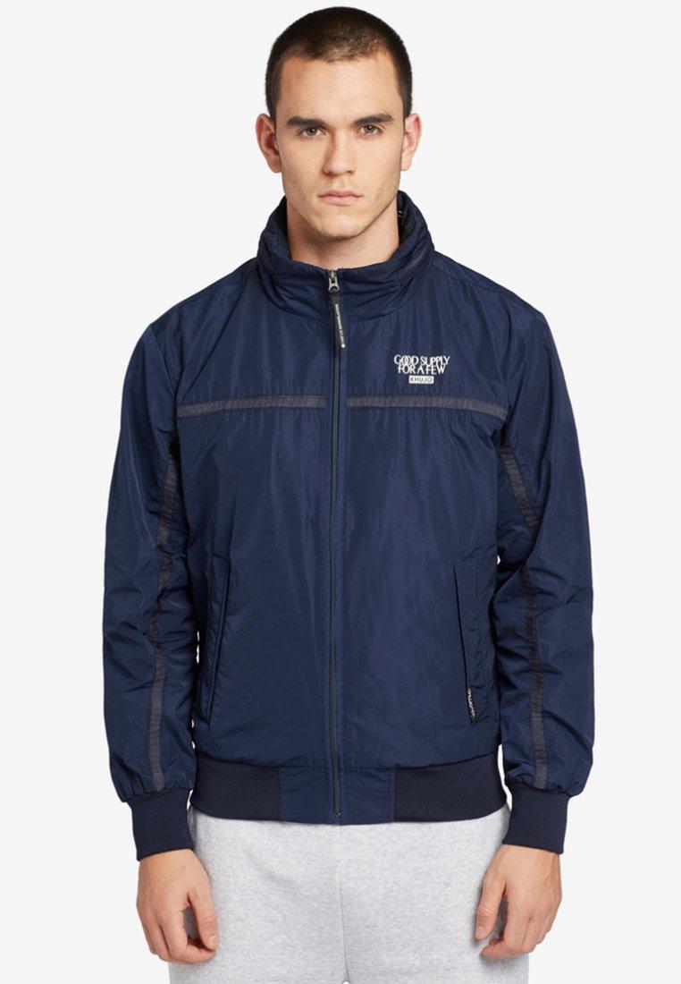 khujo - RINDEG - Summer jacket - dark blue