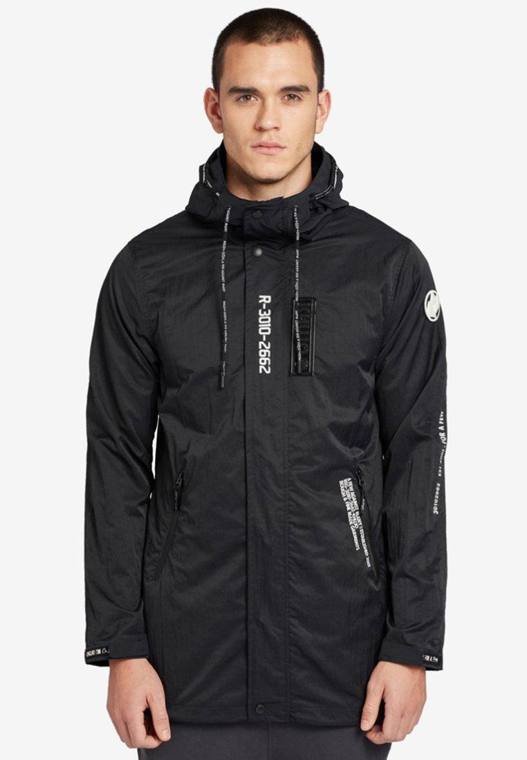 khujo - IMRAN - Waterproof jacket - black