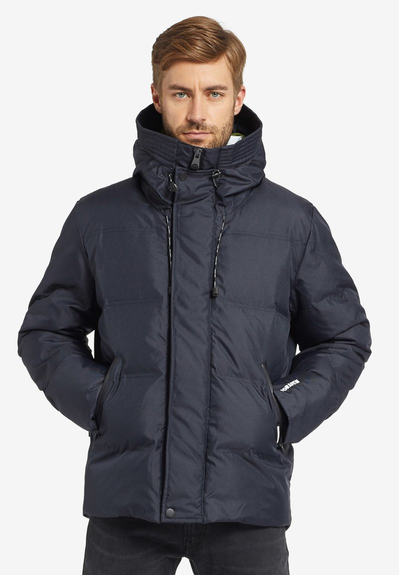 khujo - RUBEUS - Winter jacket - dark blue