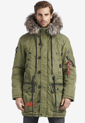 DUMBLE - Cappotto invernale - olive