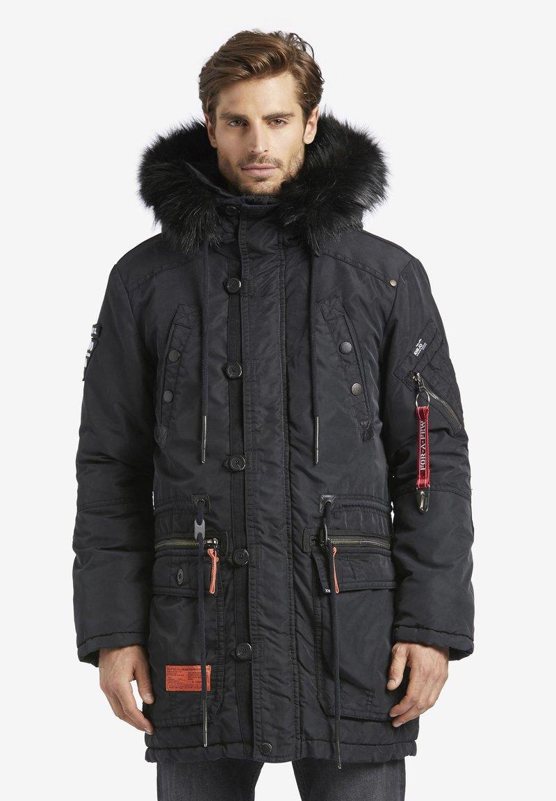 khujo - DUMBLE - Cappotto invernale - black