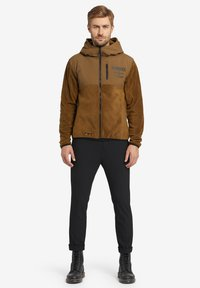 khujo - CALADIN - Fleece jacket - khaki - 1