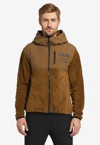 khujo - CALADIN - Fleece jacket - khaki - 0