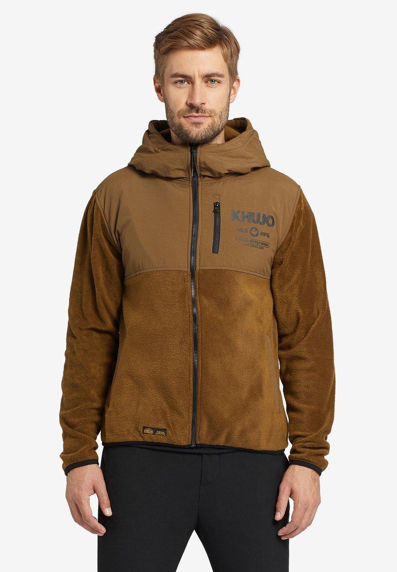 khujo - CALADIN - Fleece jacket - khaki