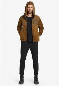 khujo - CALADIN - Fleece jacket - khaki - 3