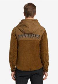 khujo - CALADIN - Fleece jacket - khaki - 2