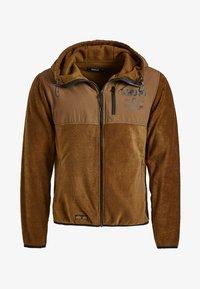 khujo - CALADIN - Fleece jacket - khaki - 7
