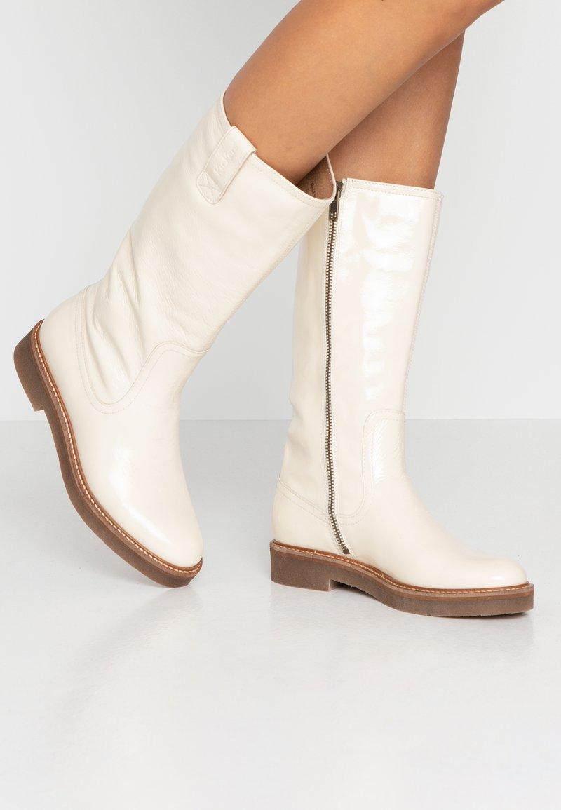 Kickers - OXFORDALIER - Boots - blanc
