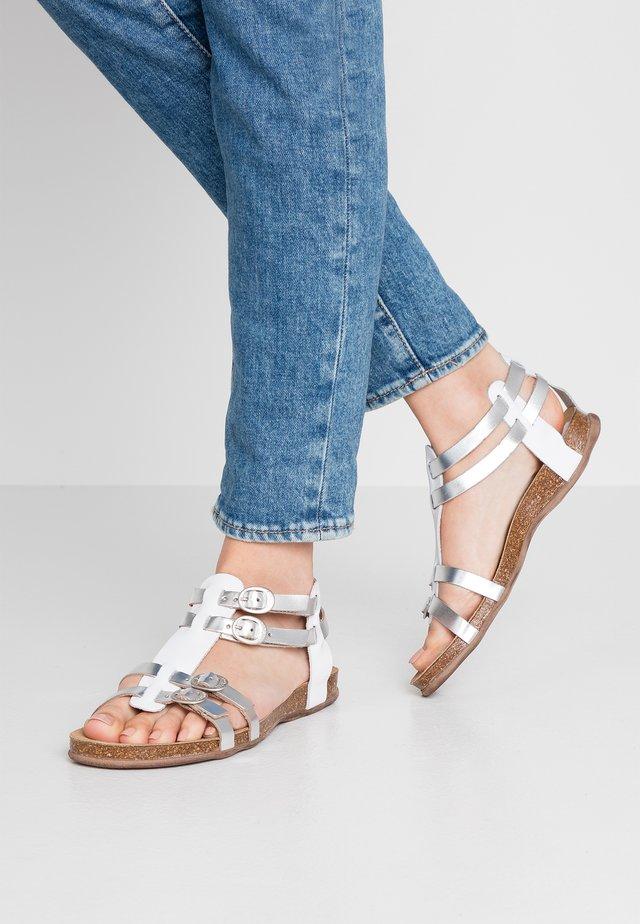 ANA - Sandales - blanc/argent