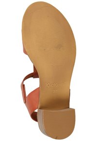 Kickers - Ankle cuff sandals - brick red - 4