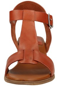 Kickers - Ankle cuff sandals - brick red - 5