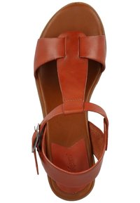 Kickers - Ankle cuff sandals - brick red - 1