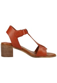Kickers - Ankle cuff sandals - brick red - 6