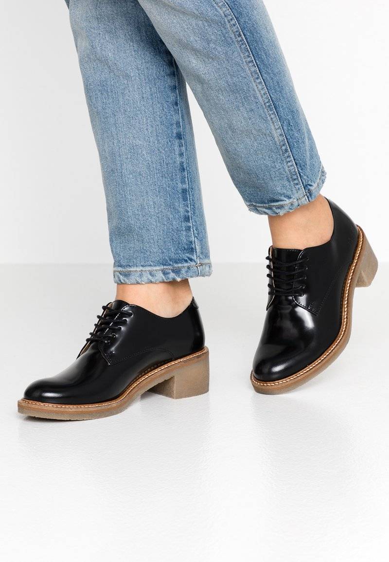 Kickers - OXBY - Lace-ups - noir