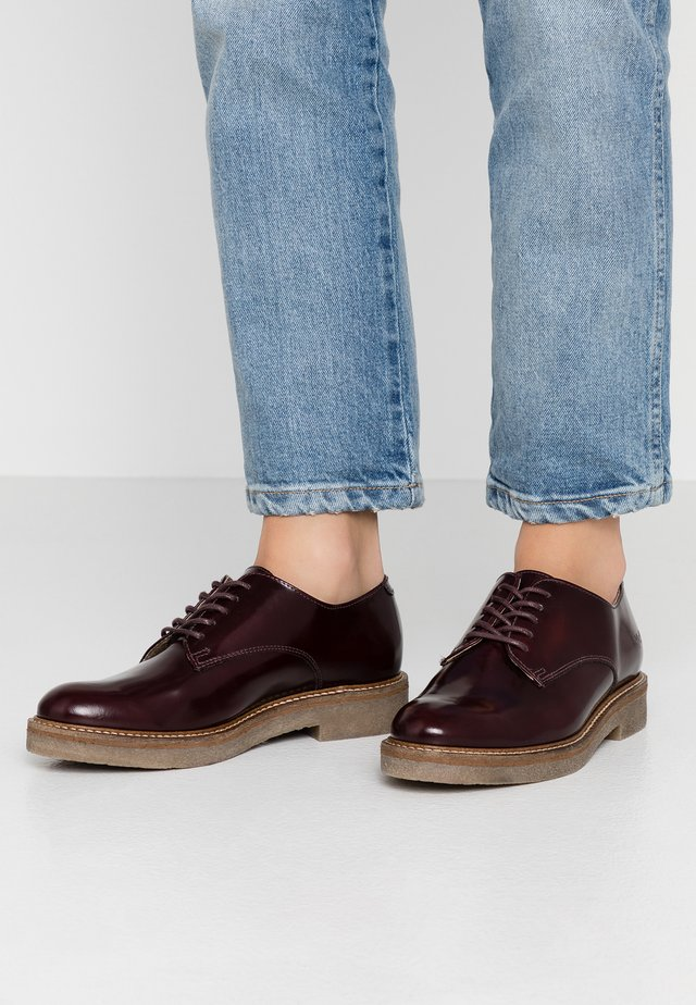 OXFORK - Lace-ups - bordeaux