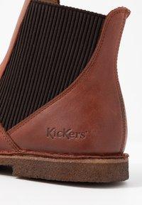 Kickers - TINTO - Stivaletti - marron - 2