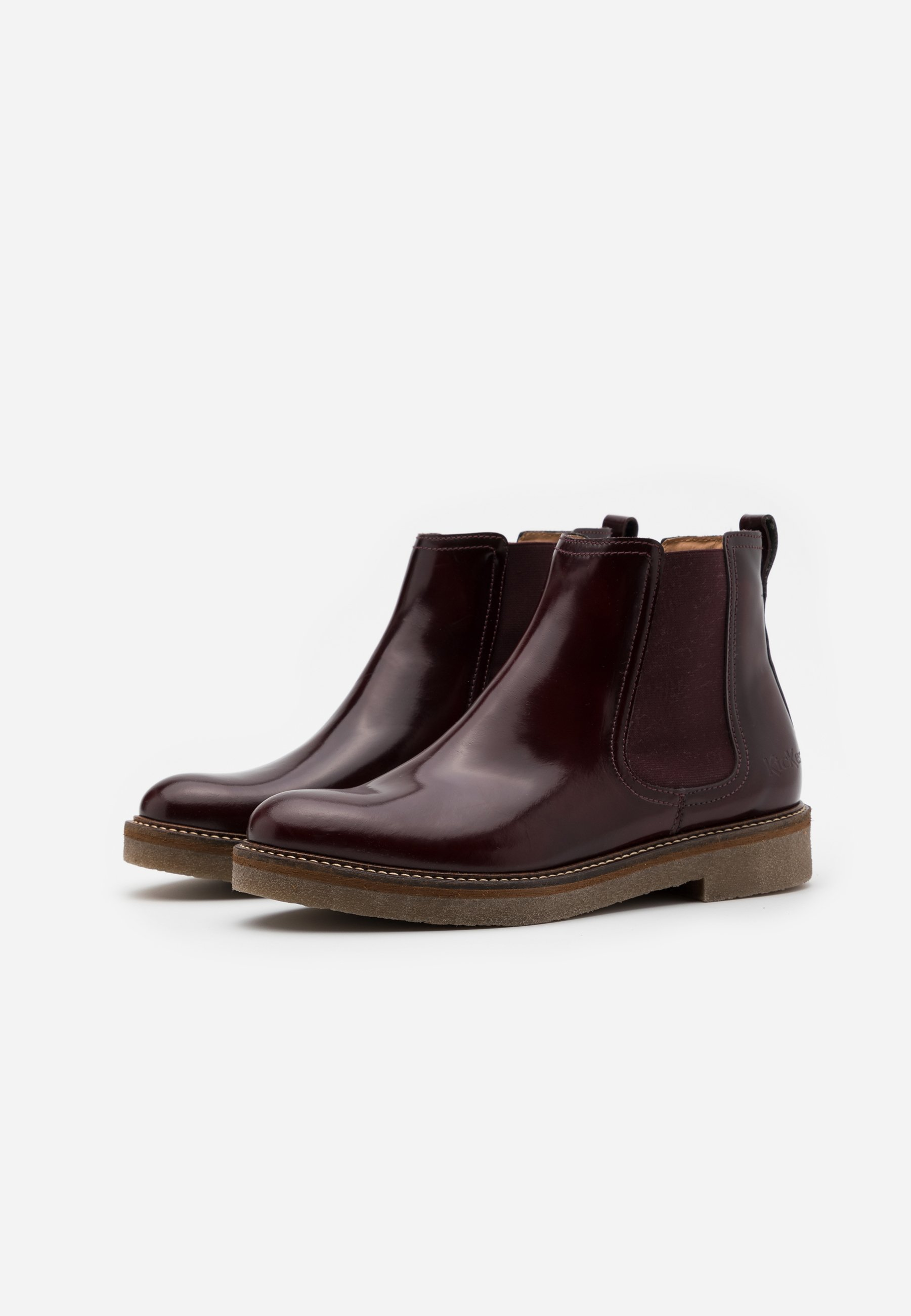 2013 Cheapest Kickers OXFORDCHIC - Ankle boots - burgundy | women's shoes 2020 Xzjbc