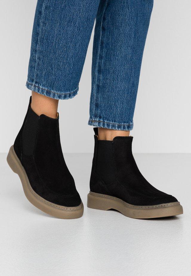 ORIGAMA - Korte laarzen - noir