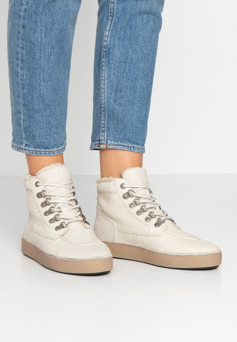 Kickers - SPRINTER - Ankle boots - blanc