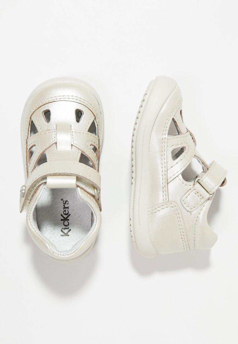 Kickers - KIKI - Baby shoes - silver