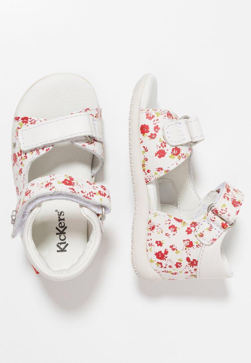 Kickers - BINSIA - Lær-at-gå-sko - white