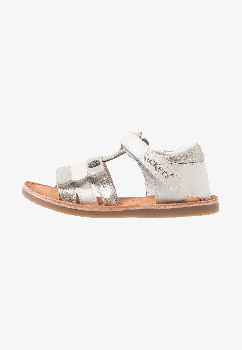 Kickers - DIAMS - Baby shoes - silver