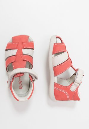 BIGFLO - Baby shoes - rose/blanc