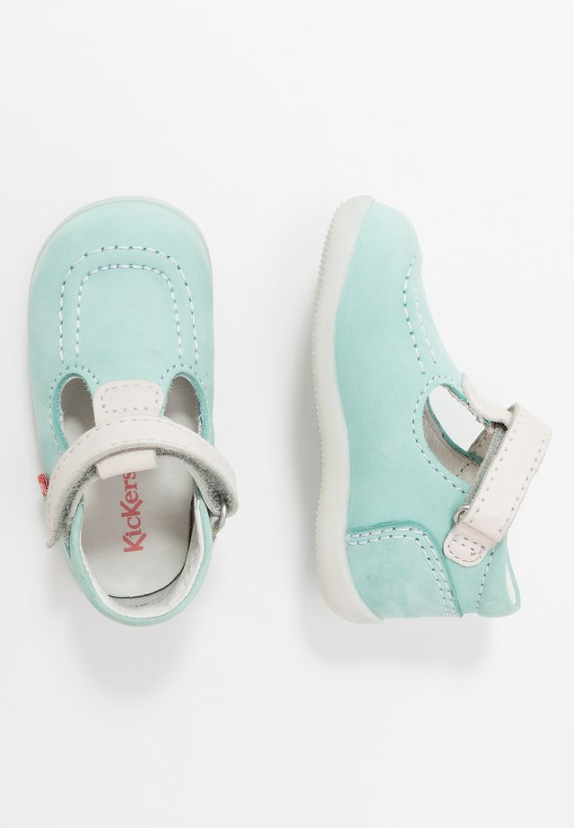 BONBEKRO - Baby shoes - bleu/blanc