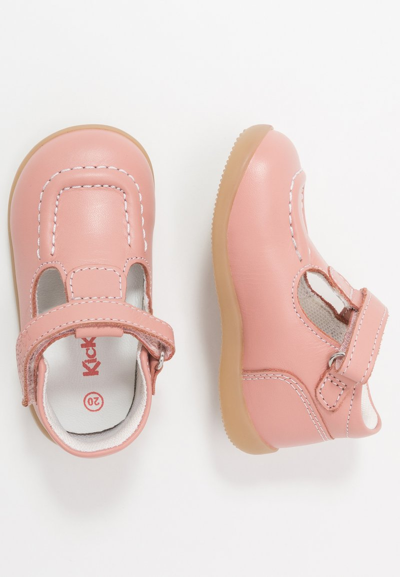 Kickers - BONIFLY - Baby shoes - rose clair