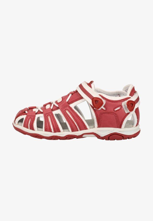 Walking sandals - white/rose