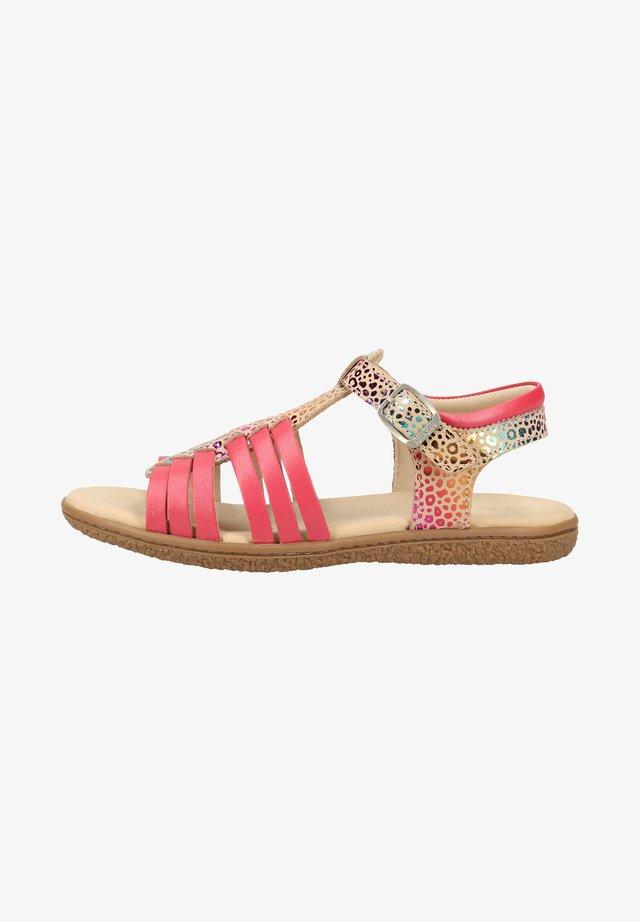 Sandals - beige/rose