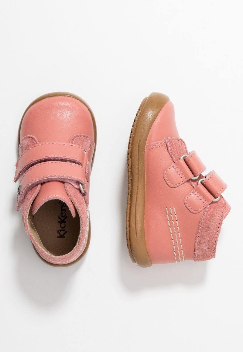 Kickers - KINEW - Sko med borrelås - light pink